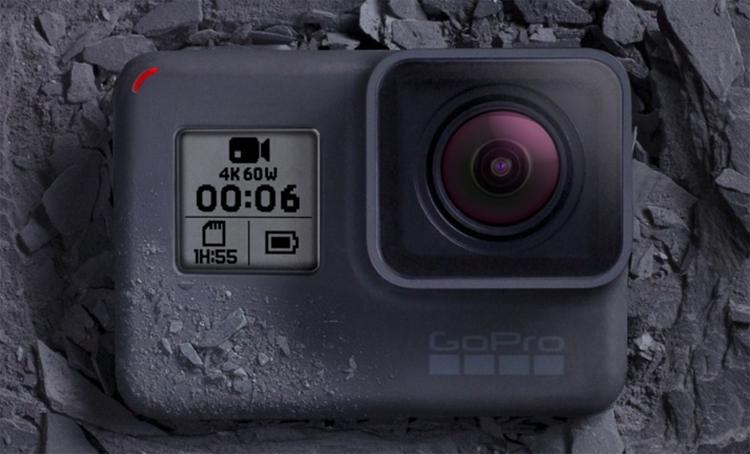 Фото - Экшен-камера GoPro Hero6 Black поддерживает запись видео 4K