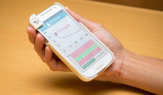 Фото - GPhone: чехол на телефон, способный контролировать уровень глюкозы в крови