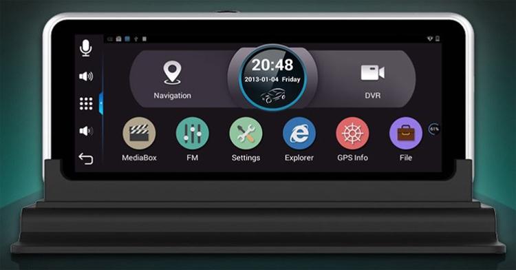 Фото - Junsun H552C: автомобильный Android-навигатор с двумя камерами»