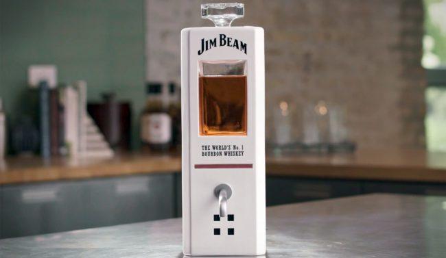 Фото - Jim Beam представили «умный» графин, наливающий вам виски