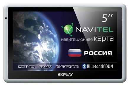 Фото - Explay GTi5 – навигатор с развитым Bluetooth