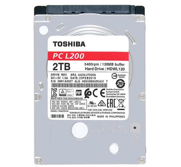 Фото - Toshiba P300, L200 и X300: жёсткие диски для ноутбуков и настольных систем»