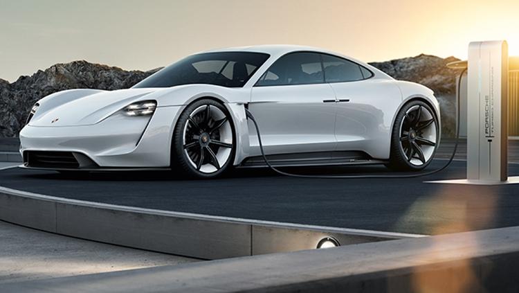 Фото - Porsche Taycan: электрокар Mission E обрёл официальное имя»