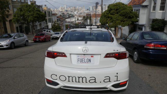 Фото - Автопилот Comma One никогда не появится в продаже