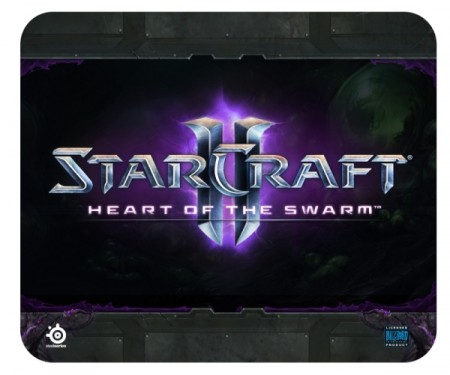 Фото - Новый игровой коврик SteelSeries StarCraft II