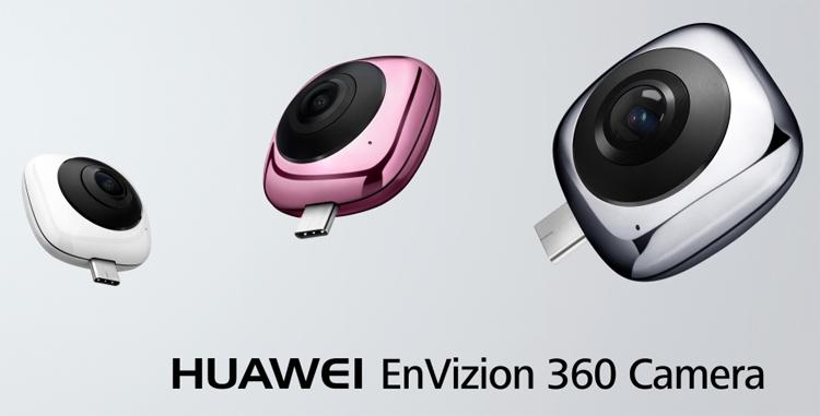 Фото - Huawei EnVizion 360: внешняя панорамная камера для смартфонов»