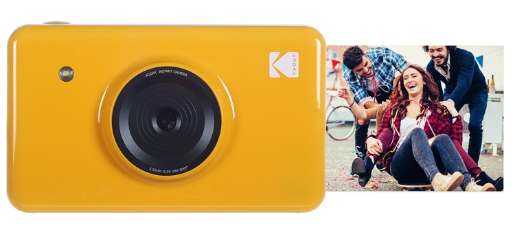 Фото - Kodak Mini Shot: камера моментальной печати с дисплеем и Bluetooth»
