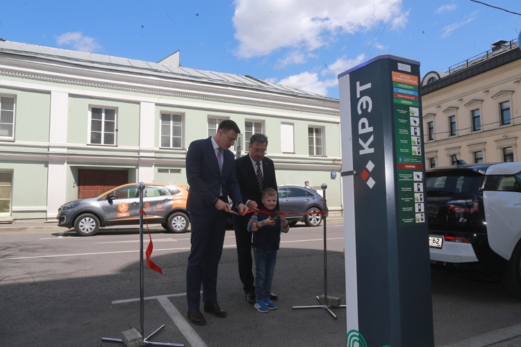 Фото - В Москве появится общедоступная сеть российских зарядных станций для электрокаров»