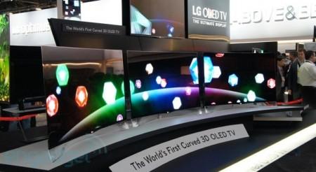 Фото - #CES | LG показала первый в мире изогнутый Cinema 3D OLED-телевизор