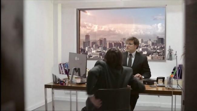 Фото - Гениальная реклама-розыгрыш телевизоров LG сверхвысокой четкости
