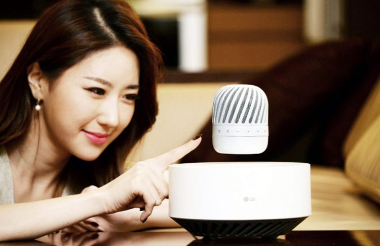 Фото - LG представила парящий Bluetooth-динамик»