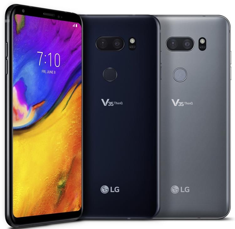 Фото - LG V35 ThinQ: мощный смартфон с чипом Snapdragon 845 и экраном QuadHD+»