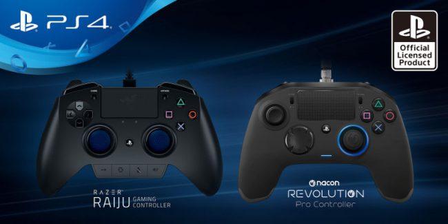 Фото - Владельцы PlayStation 4 получат профессиональные геймпады