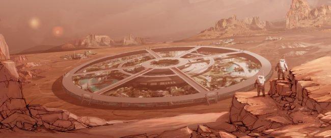 Фото - Компания Илона Маска будет рыть туннели для марсиан?