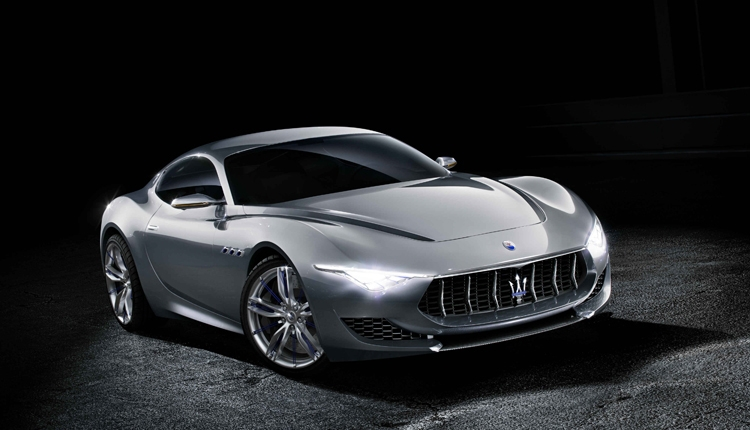 Фото - Электрический суперкар Maserati Alfieri получит три мотора»