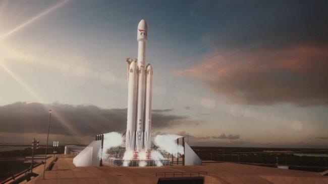 Фото - #видео | SpaceX опубликовала 3D-анимацию предстоящего запуска Falcon Heavy