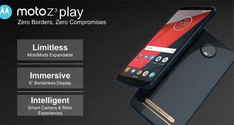 Фото - Раскрыты ключевые характеристики смартфона Moto Z3 Play с комплектами Moto Mods»