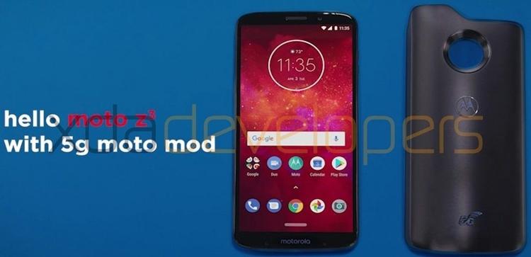 Фото - Новая панель Moto Mods наделит смартфоны Moto поддержкой 5G-связи»