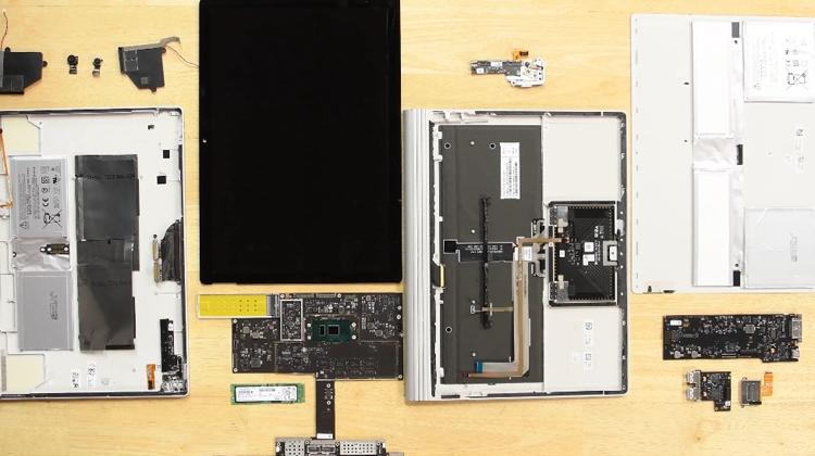 Фото - Ноутбук Microsoft Surface Book 2 признан неремонтопригодным»
