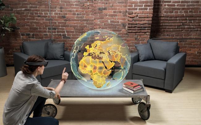 Фото - Смешанная реальность — будущее вычислительной техники?