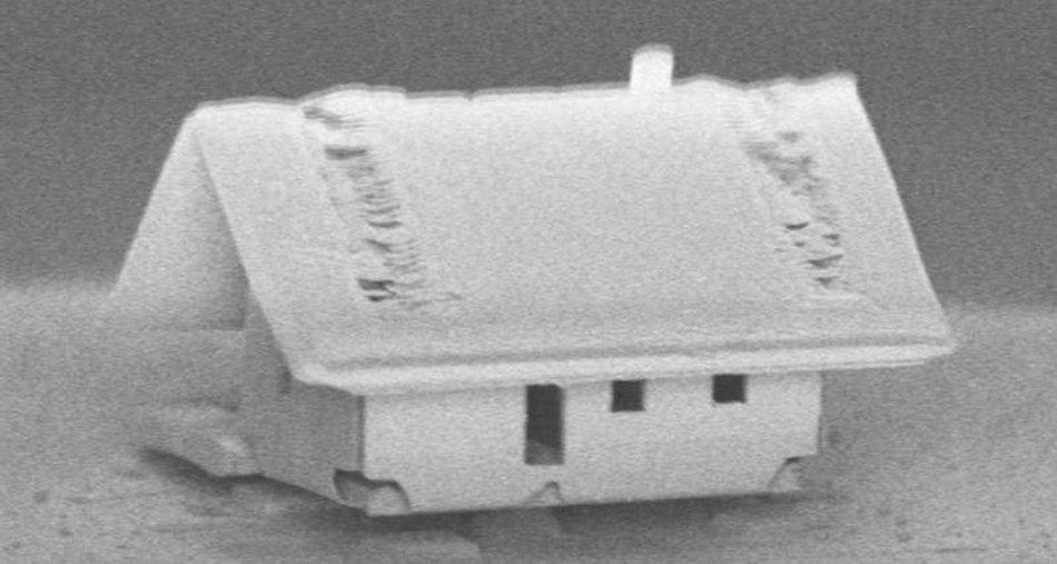 Фото - Французские инженеры построили самый маленький в мире дом