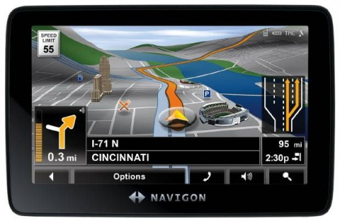 Фото - Navigon выпускает портативные GPS — 7300T, 4300Tmax , 3300 max