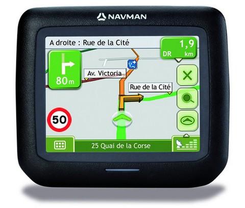 Фото - Автомобильная GPS Navman F15 поступила в продажу в США