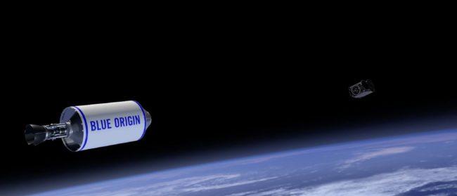 Фото - Клиенты Blue Origin отправятся в космос не раньше апреля 2019 года