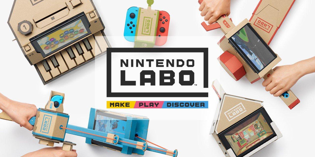 Фото - Nintendo LABO: японцы представили серию аксессуаров из картона для Switch