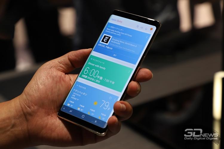 Фото - Фаблет Samsung Galaxy Note 9 получит до 512 Гбайт флеш-памяти»