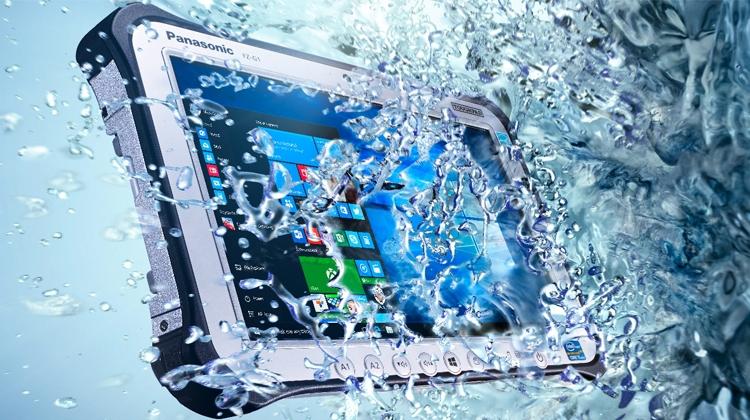 Фото - Panasonic представила в России взрывозащищённый планшет Toughpad»
