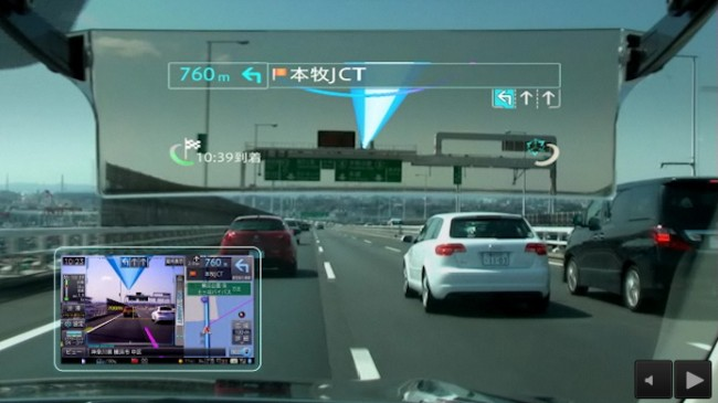 Фото - Pioneer начала продажи автомобильного навигатора с дополненной реальностью