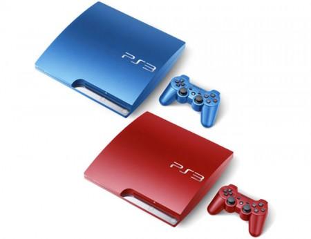 Фото - Sony готовит красный и синий вариант консоли  PS3 Slim