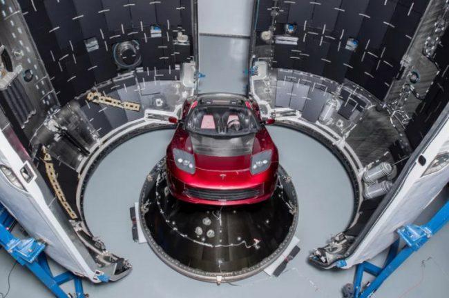 Фото - Электрический родстер Илона Маска готовится к полету вокруг Марса