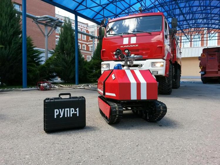 Фото - В России разработан уникальный робот-пожарный»