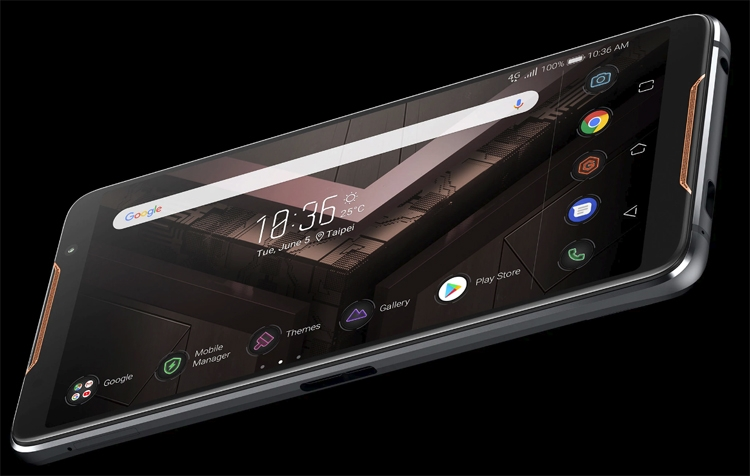 Фото - Computex 2018: игровой смартфон ASUS ROG Phone с необычными функциями и аксессуарами»