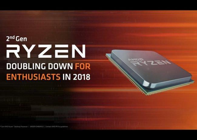 Фото - AMD официально представила второе поколение процессоров Ryzen