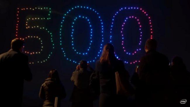 Фото - Компания Intel разработала дрон Shooting Star для организации световых шоу