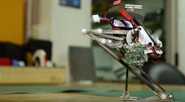 Фото - Робот-паркурщик Salto научился маневрировать в воздухе