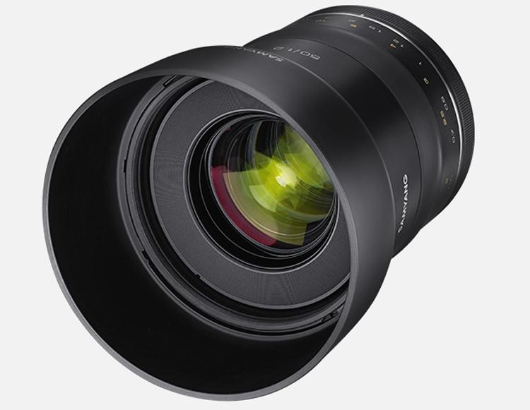 Фото - Объектив Samyang XP 50mm F1.2 рассчитан на полнокадровые DSLR-камеры Canon»