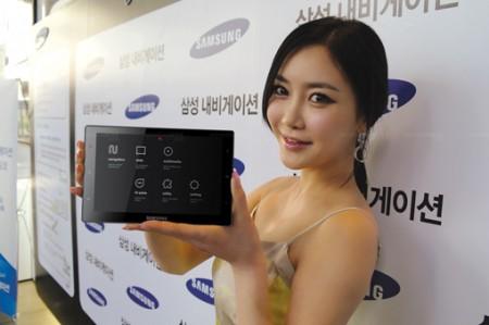 Фото - Планшет-навигатор Samsung SENS-240