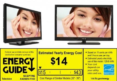 Фото - Scepter выпустила недорогой и энергоэффективный 40-дюймовый HDTV