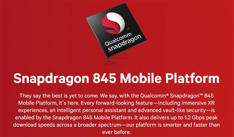 Фото - Представлен процессор Snapdragon 845: новое «сердце» флагманских смартфонов»