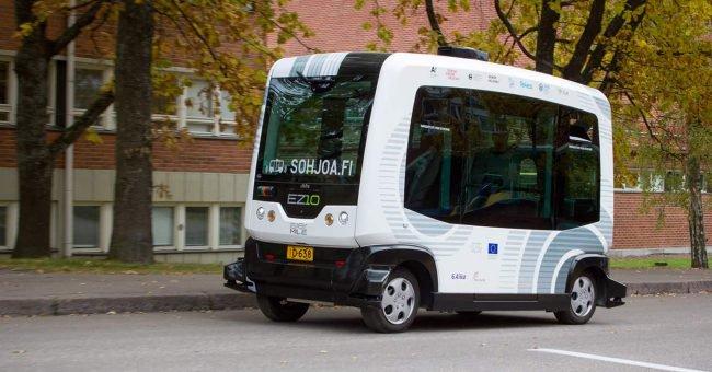 Фото - В Хельсинки запускают самоуправляемые беспилотные автобусы