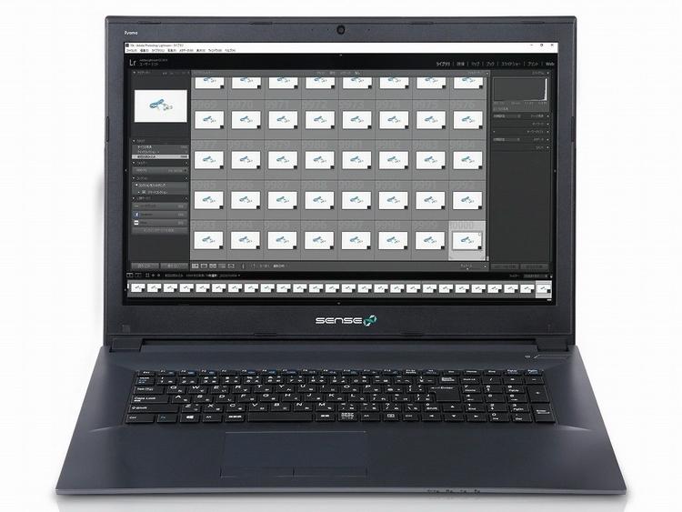 Фото - Серия японских ноутбуков Sense предназначена для обработки RAW»