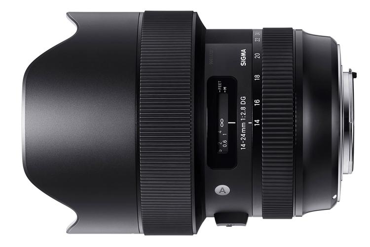 Фото - Объектив Sigma 14-24mm F2.8 Art рассчитан на камеры высокого разрешения»