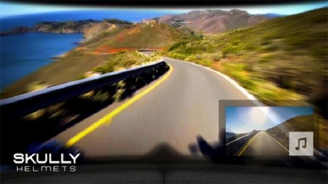 Фото - Шлем Skully P1 включает камеру заднего вида и дополненную реальность