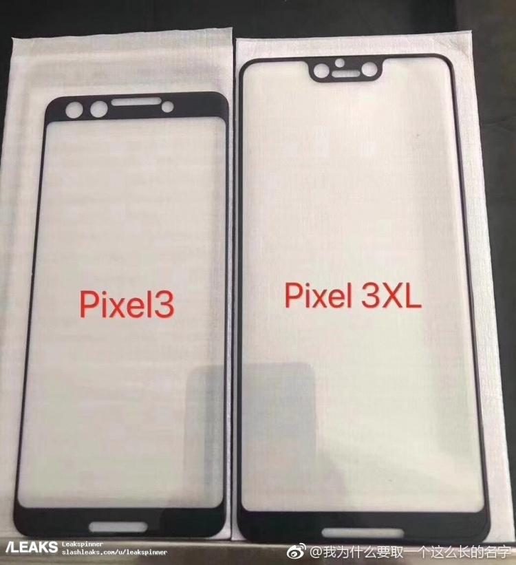 Фото - Google Pixel 3 XL получит экран с вырезом, Pixel 3 — обычную верхнюю рамку»