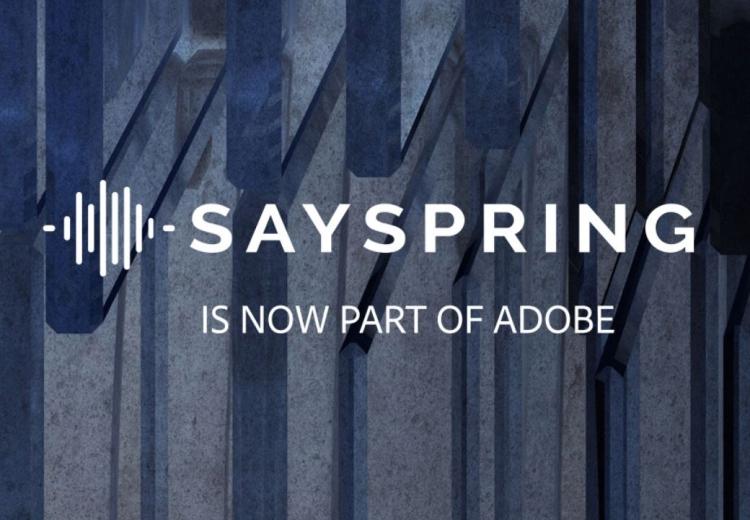 Фото - Adobe купила голосовую платформу Sayspring»