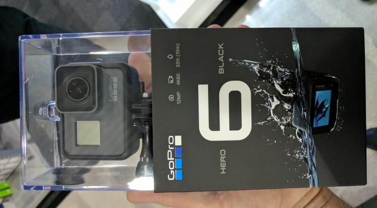 Фото - GoPro представит экшен-камеры Hero6 и Hero6 Black 28 сентября»
